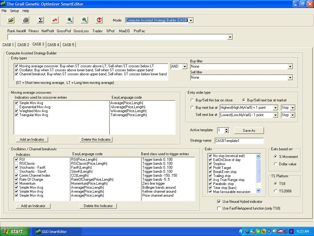 easylanguage code library